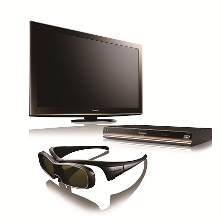 Il kit per la tv 3d