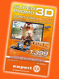 super promozione 3d negozi expert