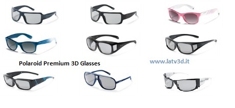 occhiali polaroid 3D