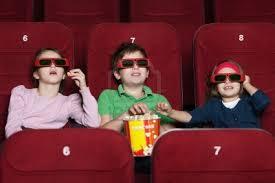 bambini e cinema 3d: non consigliato