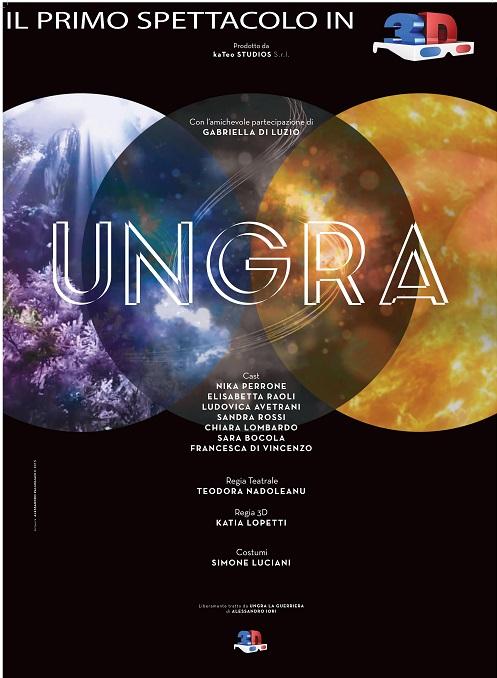 Il teatro in 3D con Ungra