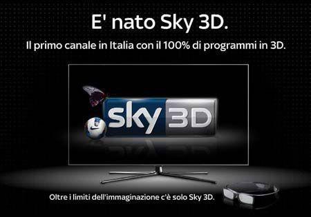 abbonati a sky 3d la tv 3d. Black Bedroom Furniture Sets. Home Design Ideas
