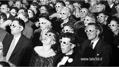 il cinema 3d ha oltre un secolo