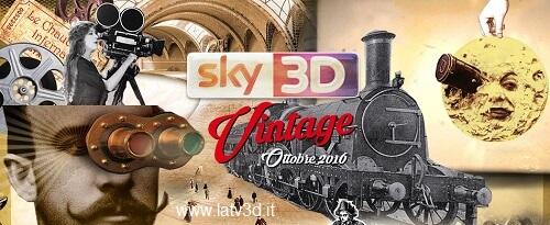 sky 3d vintage