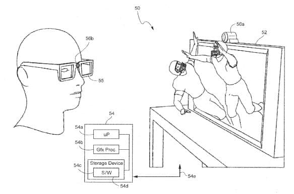 Nintendo brevetto 3d